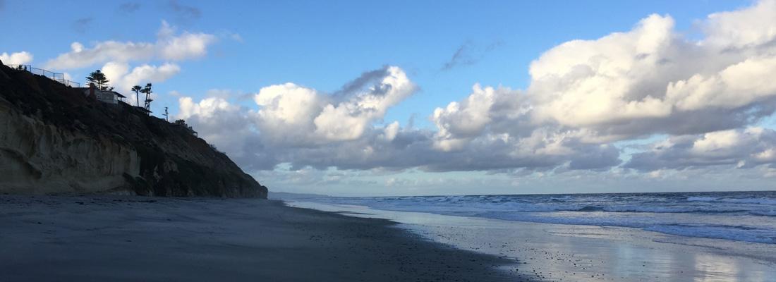 Beach town Encinitas