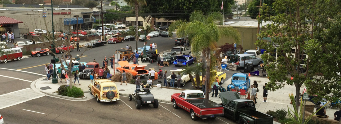 From May through September, Encinitas hosts Classic Car Nights